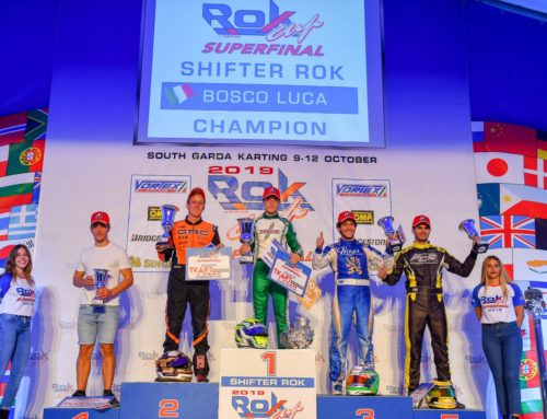 Luca Bosco is ROK World Champion 2019 with Manetti Motorsport